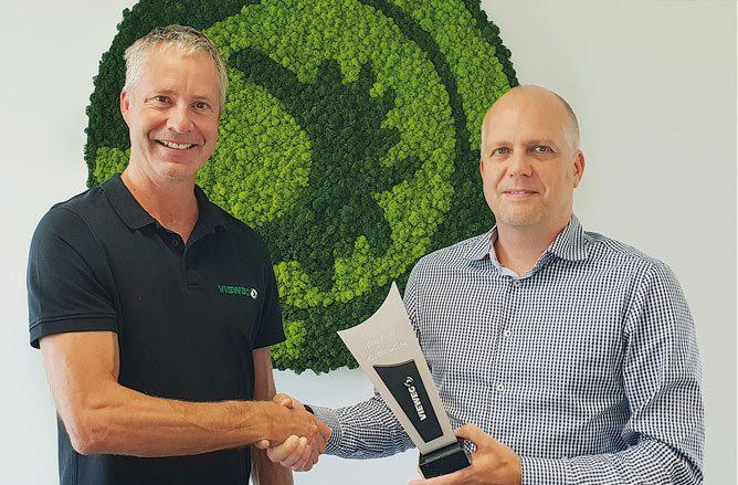 10 years of business partnership between preeflow and Vieweg