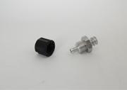 Schnellverschraubung Luer-Lock kpl. mit Überwurfmutter für Schlauch 6 mm (für eco-PEN/eco-DUO)