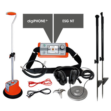digiPHONE+ NT Set: all-round tracking receiver