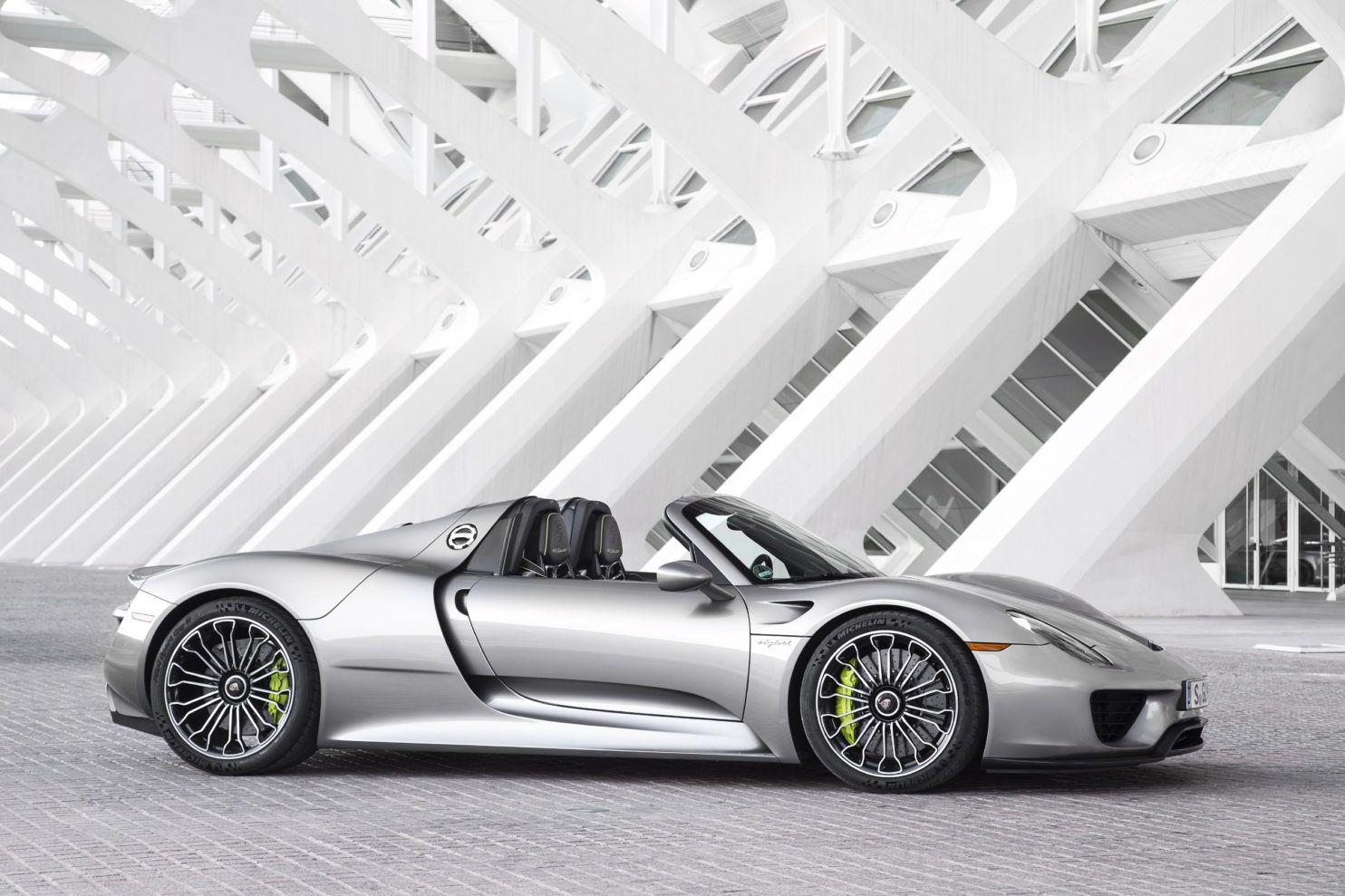 Porsche Spyder 918 (Source: Porsche)