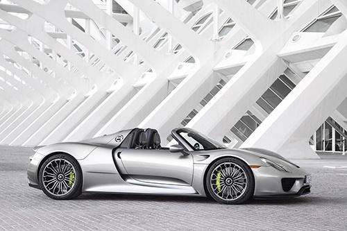 Porsche Spyder 918 (Quelle: Porsche)