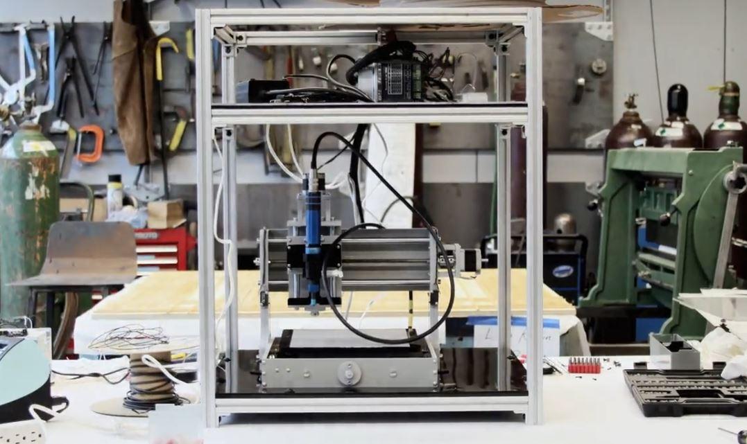 preeflow dispenser eco-PEN integrated in a Bio-Printer