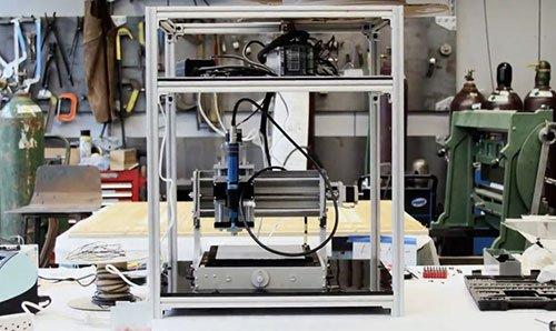 preeflow Dispenser eco-PEN integriert in einen Bio-Printer