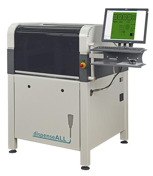 Fritsch SMT dispensing machine dispenseALL420