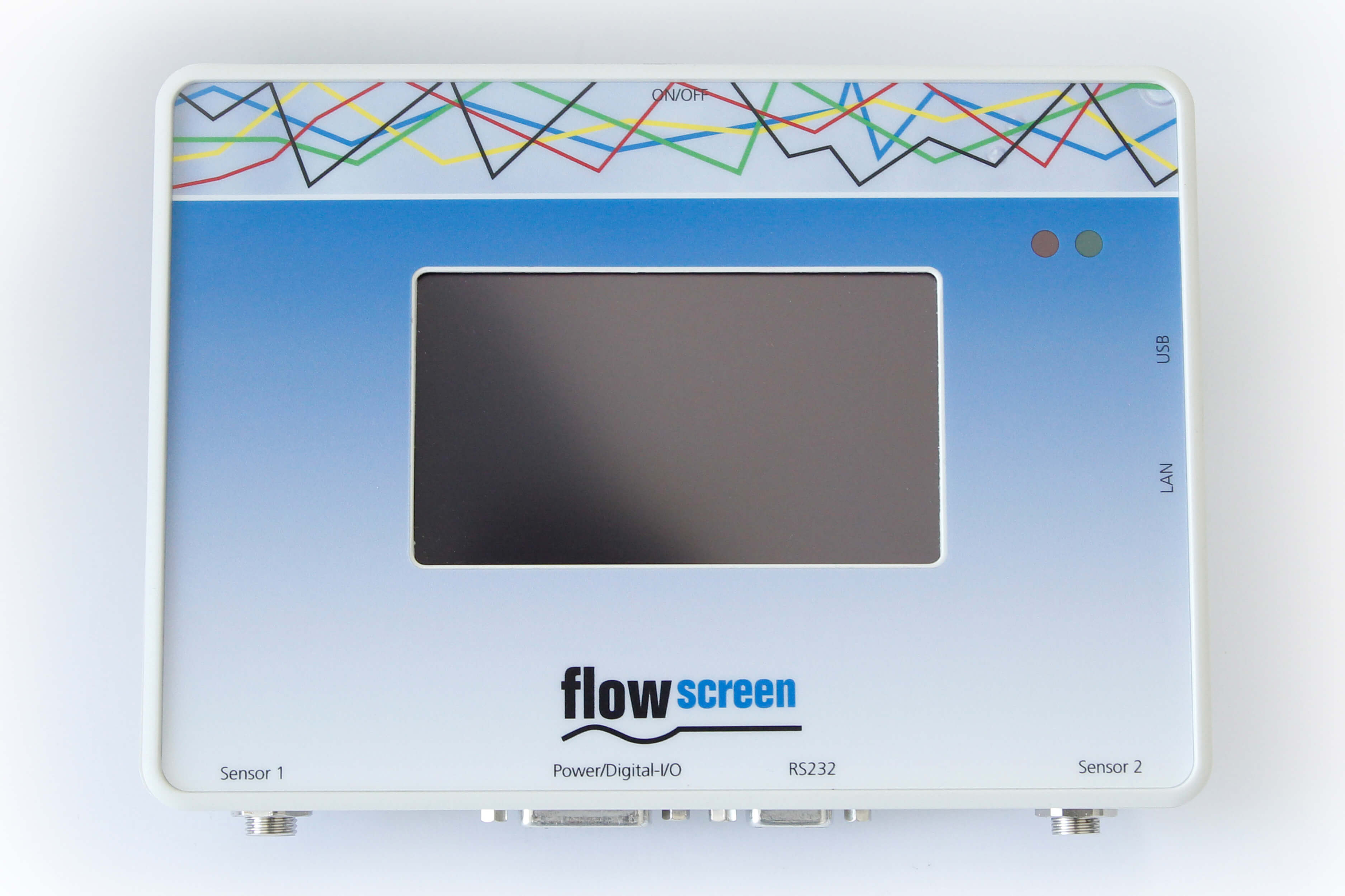 Sensor Interface flowscreen - Druck-Auswertegerät