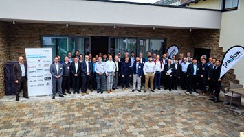 The participants of the preeflow distributor meeting 2019.