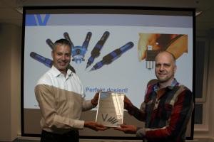 ViscoTec preeflow Vieweg Vertriebstagung certificate