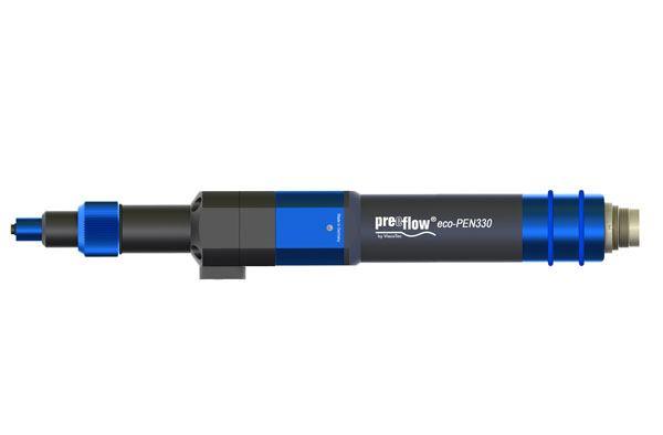 Komplettansicht preeflow Mikrodosierer eco-PEN330