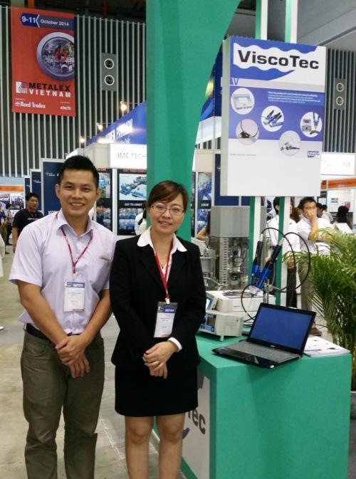 preeflow auf der Nepcon Vietnam vertreten von ViscoTec Asia
