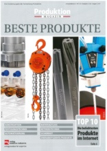 "preeflow eco-DUO covers the ""Produktion Magazin"" title"
