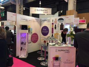 Exhibition stand Supratec Syneo at the PCD Paris